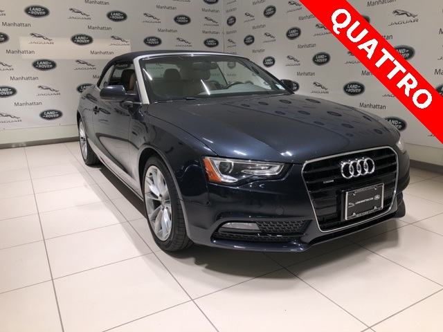 PreOwned Audi A T Premium Plus D Convertible In New York - Audi pre owned